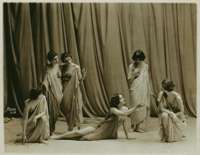Айседора Дункан - танцовщица будущего в редких фотография