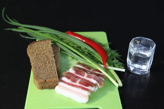 Сало соленое с чесноком, но не простое. Сало, Шпик, Соленое сало, Мясо, Пузанина, Кулинария, Гифка, Длиннопост