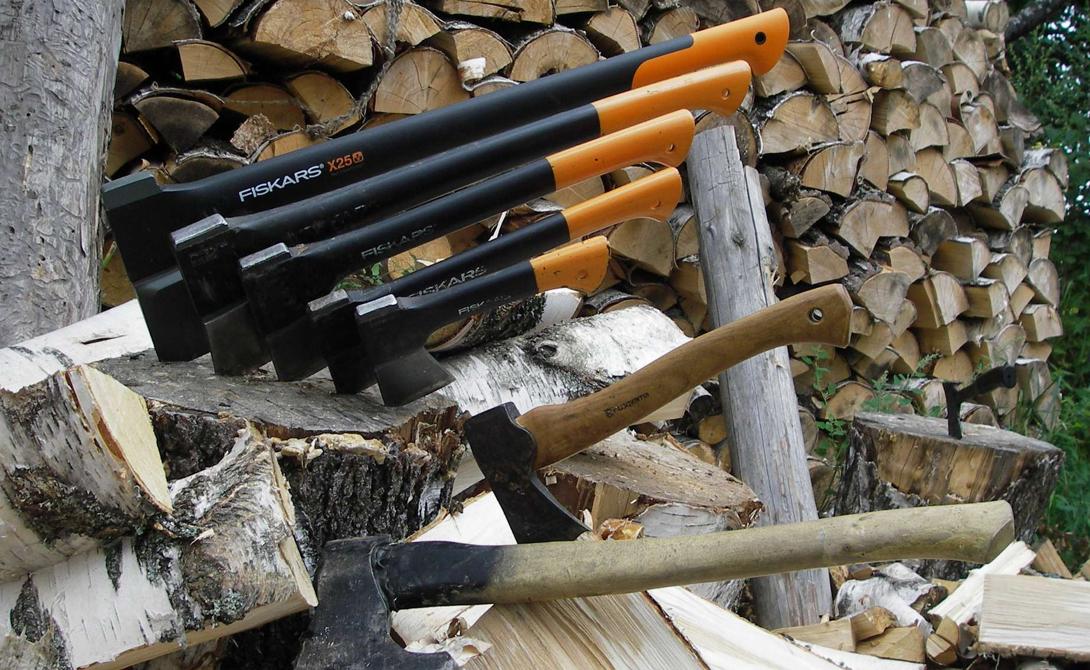 Учимся колоть дрова