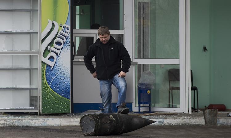 Арсенал Балаклеи лишился двух третей боеприпасов