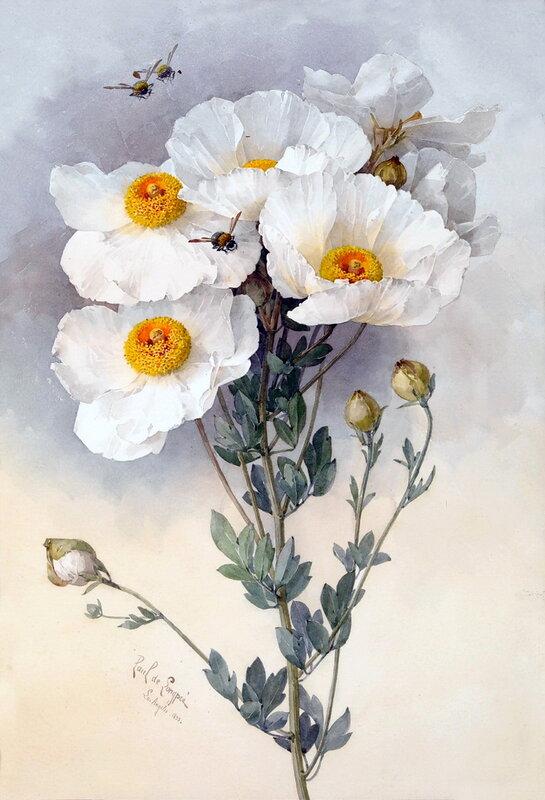 Paul De Longpre — художник и его сады