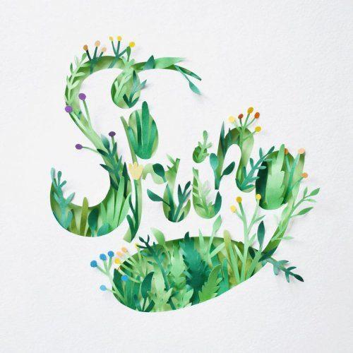 Многослойные бумажные картины от Маргариты Скринкл