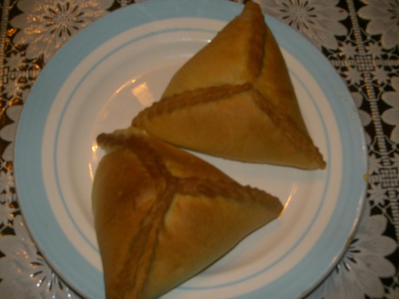 Тесто треугольники с мясом и картошкой пошаговый рецепт без дрожжей