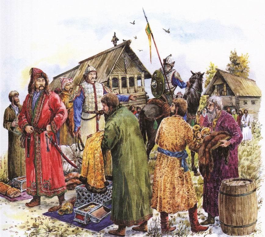 Татаро-монгольское иго в рублях
