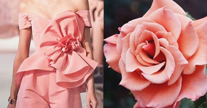 25 дизайнерских платьев, на которых можно увидеть природу. Это и в самом деле очень красиво!