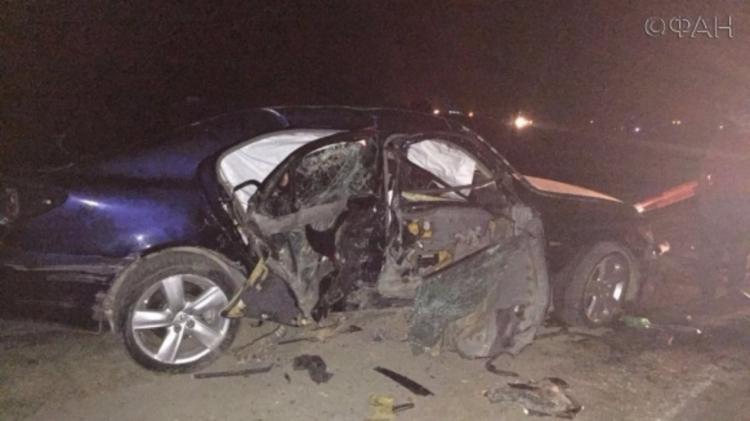 В ДТП в Дагестане погиб один человек 12 пострадали