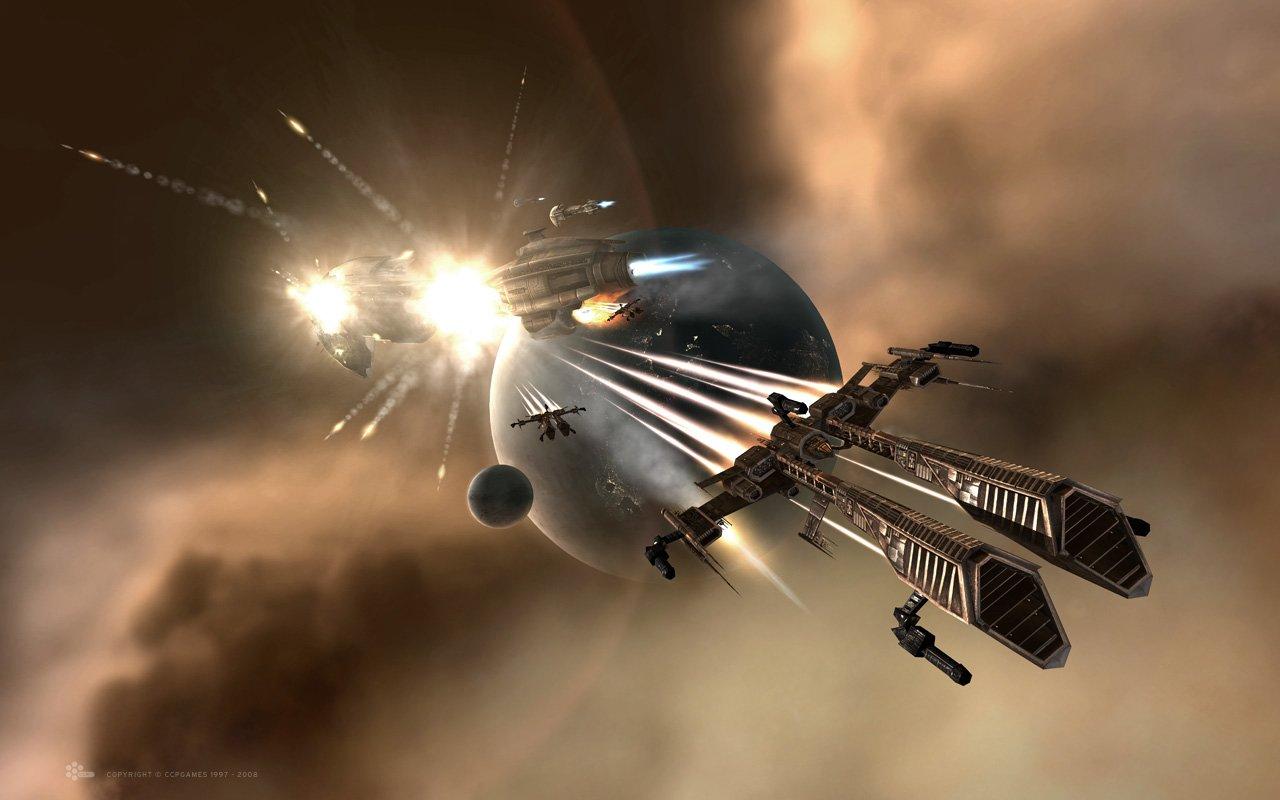 Искусственный интеллект EVE Online вышел из-под контроля и устроил битву