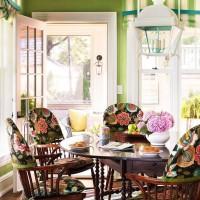 чехлы для стульев на кухню фото 15