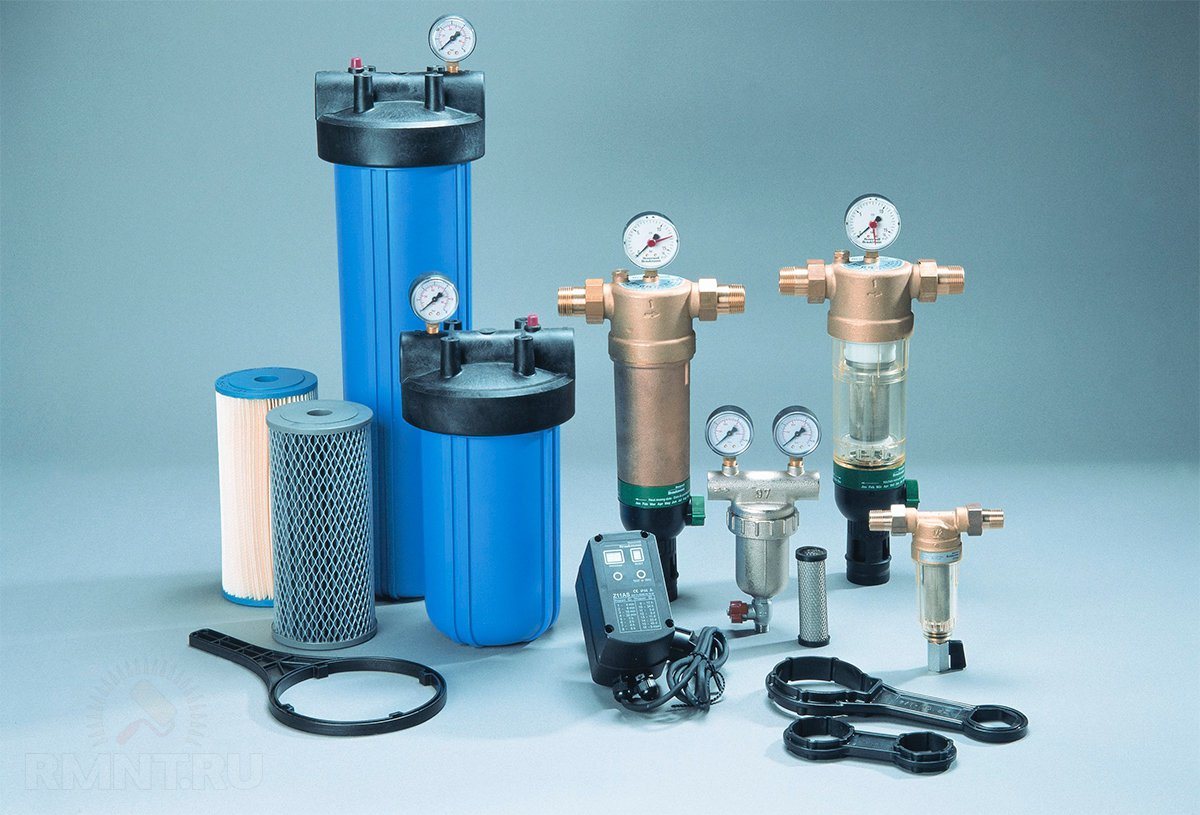 Грубый фильтр для очистки воды своими руками