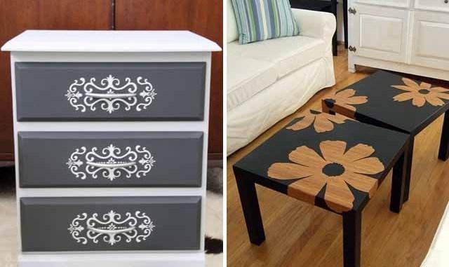 Как обновить мебель своими руками: 25 фото с инструкциями