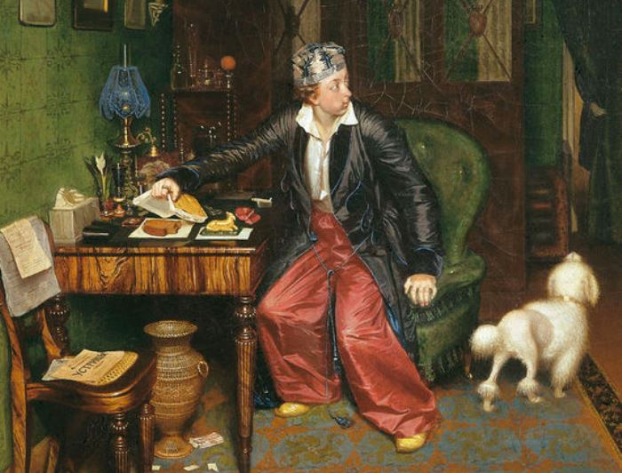 «Завтрак аристократа»: что скрыто в деталях знаменитой картины Павла Федотова