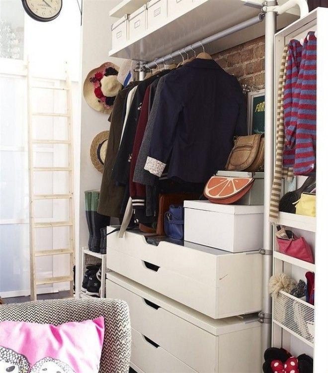 Вешалка заменит шкаф и сэкономит место