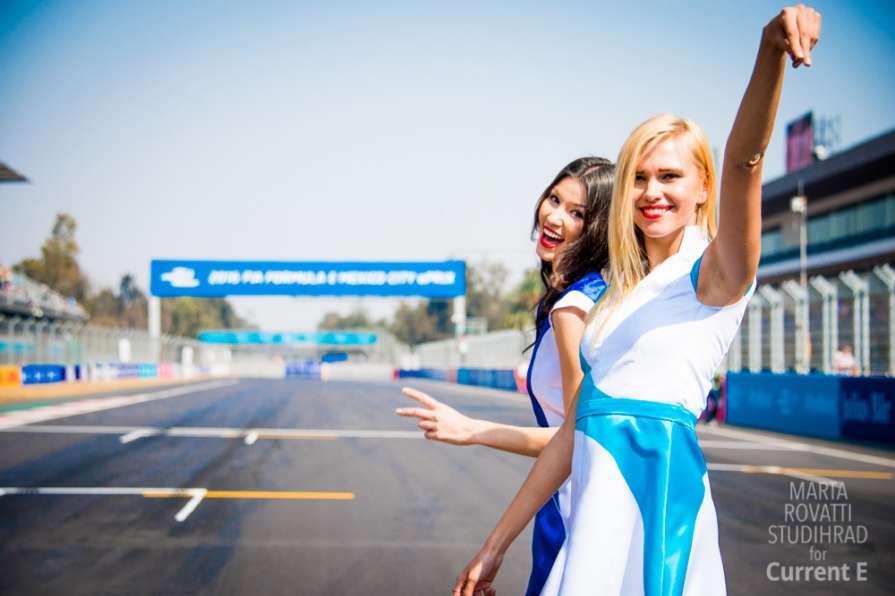 Босс Formula-E – о грид-герл…
