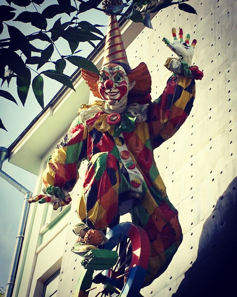 Неживые они ещё страшнее Пеннивайз, жуткие клоуны, клоун, клоуны, клоуны остались, страшные клоуны, цирк уехал
