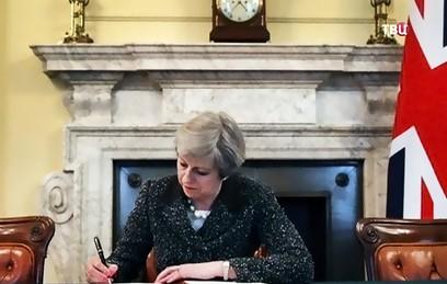 Тереза Мэй официально запустила процедуру Brexit