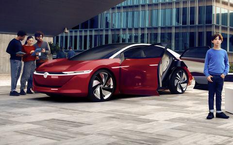 Volkswagen специально для беспилотников создал новую марку IQ Drive