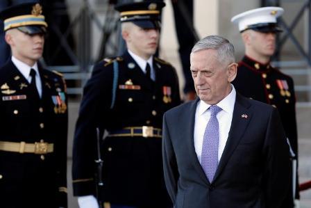Пентагон воздерживается отоглашения встречи Шойгу иМэттиса наФилиппинах