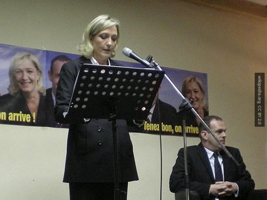 Стало известно, зачем Марин Ле Пен срочно прилетела в Москву