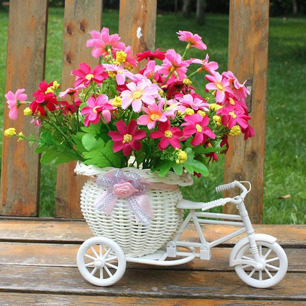 Декоративный велосипед для цветов