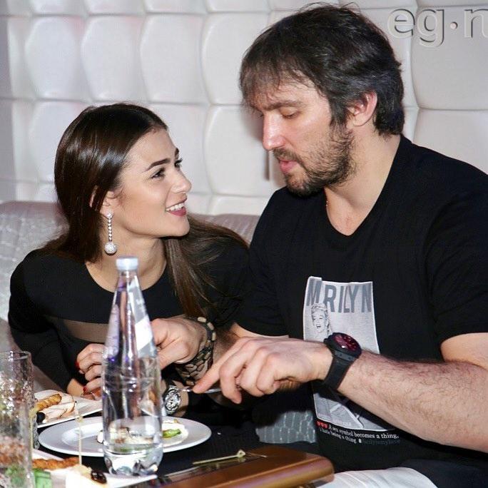 Фотоальбом Анастасии Шубской и Александра Овечкина