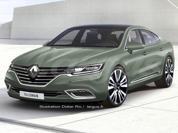 Наследнику Renault Laguna дали имя Talisman