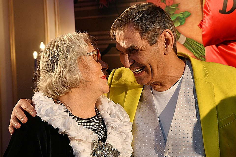 Подробности звездной свадьбы: Бари Алибасов и Лидия Федосеева-Шукшина официально стали мужем и женой