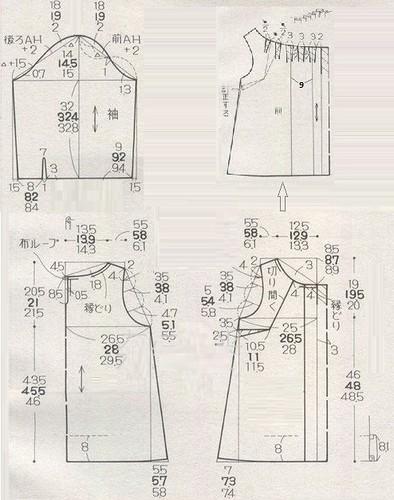 Выкройки платьев и блуз