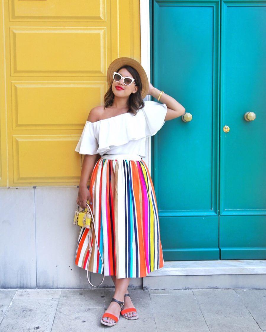 5 стильных идей, как одеваться крупным девушкам уходящим летом