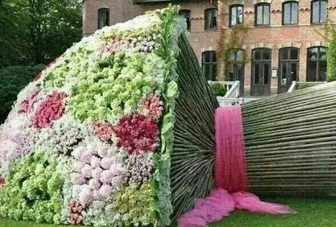 Замечательная подборка произведений садово-паркового искусства