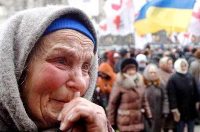 200 тысяч украинских стариков остались без пенсий