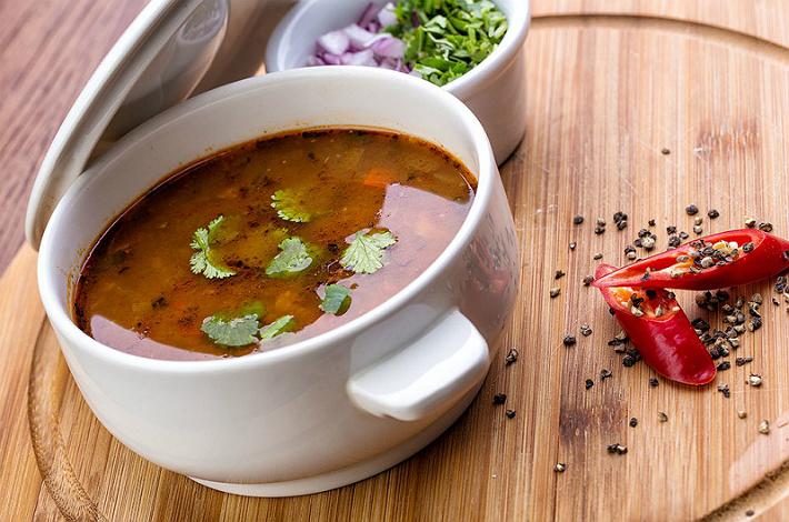 Вегетарианский суп харчо – щедрый подарок грузинской кухни!