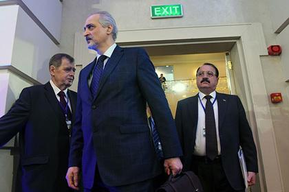 На сирийской встрече в Астане арабские журналисты подрались из-за головы