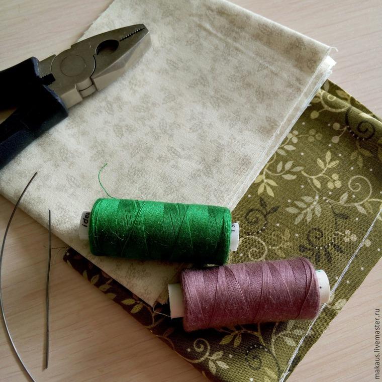 Мастер-класс по созданию текстильных перьев