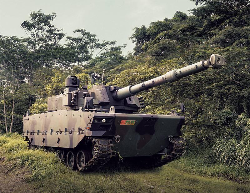 Средний танк Harimau. Зарубежные агрегаты для индонезийской армии