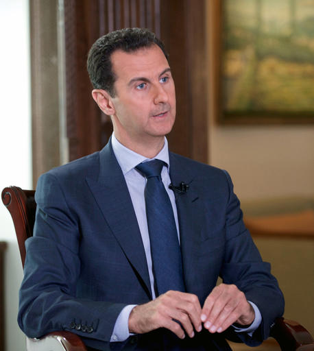 Асад считает Россию невиновной в авиаударе по гумконвою в Сирии