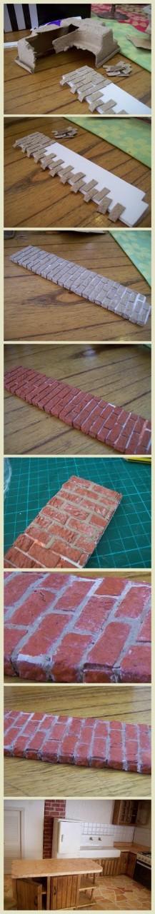 Идеальная фактура кирпичной стены (Diy)