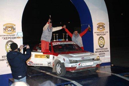 Старейший раллийный автомобиль-чемпион будет внесен в Национальный Реестр Рекордов Украины