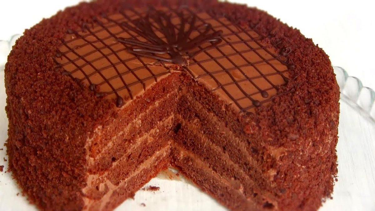 """Торт """"Прага"""" - самый быстрый и простой рецепт"""