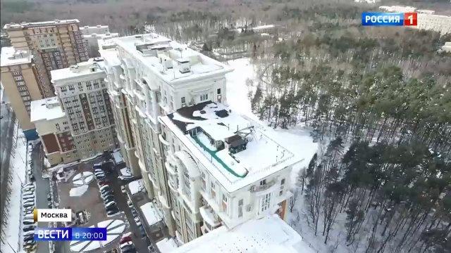 Глава ТСЖ устроил себе дачу на крыше элитной многоэтажки