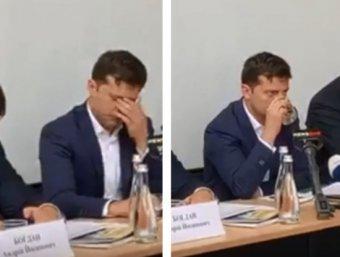 Неадекватное поведение Зеленского шокировало Сеть (ВИДЕО)