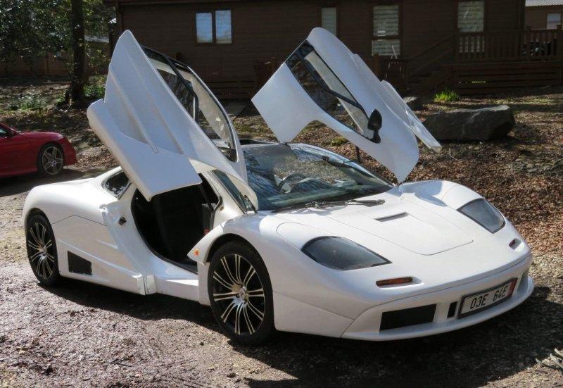 Британец продает реплику McLaren F1, сделанную из Toyota MR2