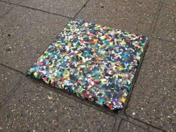 Вечная плитка из пластиковых…