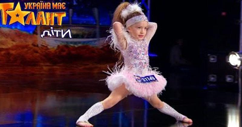 Блистательный диско-танец 5-летней девочки взорвал зал. Она – настоящий энерджайзер!