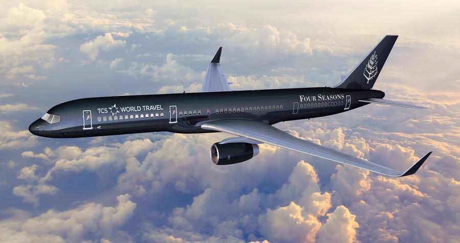 135 000$ за путешествие, или самолет-отель для гурманов