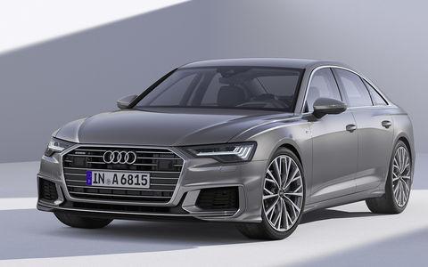 Новый Audi A6: что он взял у старших?