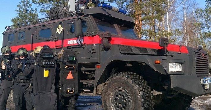 Новую машину отечественного производства «Патруль» получил СОБР «Гранит» ГУ Росгвардии
