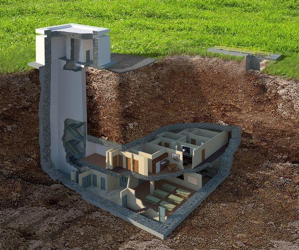Шикарный вариант переждать ядерный апокалипсис — 1300 кв.метров подземной роскоши