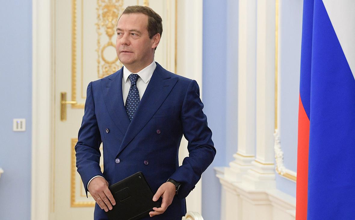Медведев пообещал крупным компаниям поддержку в случае новых санкций