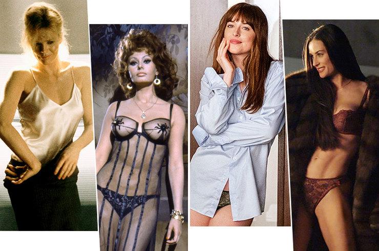 Культовые модели нижнего белья вкино: 17 сцен, которые потрясли мир