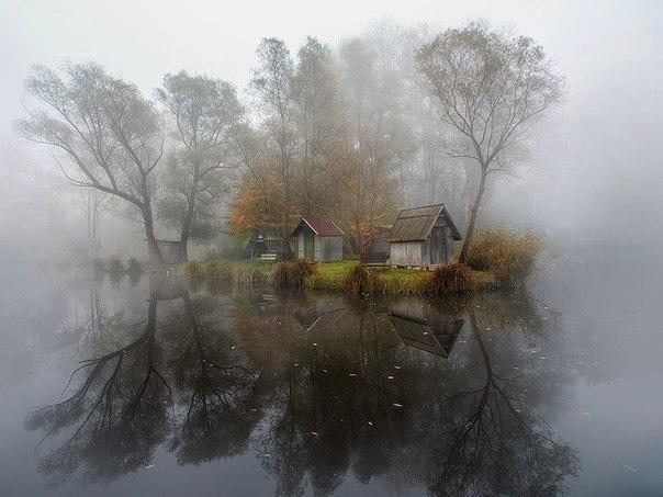 Особое настроение — туманные пейзажи фотографа Габора Дворника (Gabor Dvornik)